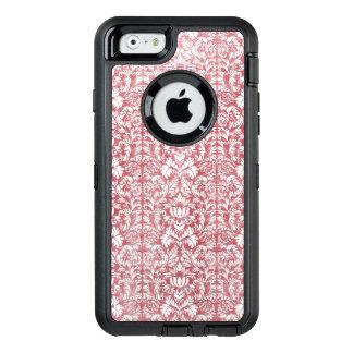 Rosen-rosa Blumendamast OtterBox iPhone 6/6s Hülle