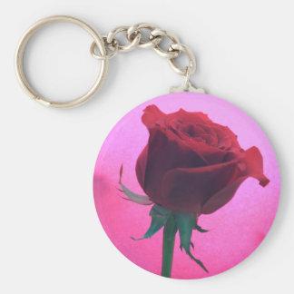 Rosen-runde Schlüsselkette Schlüsselanhänger