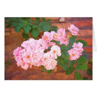 Rosen-Schönheits-Gruß-Karte Karte