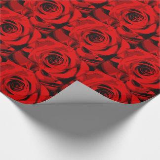 Rosen-Verpackungs-Papier Geschenkpapier