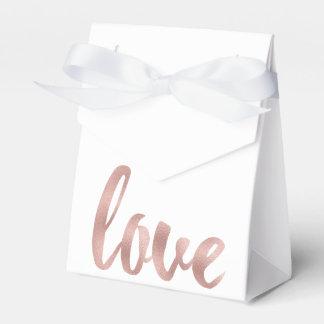 Rosengoldbevorzugungskästen Geschenkschachteln
