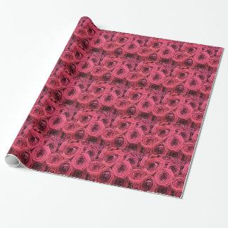 Rosenverpackungspapier Geschenkpapier