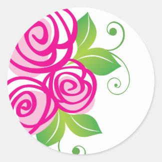 Roses lunatiques : : Autocollants