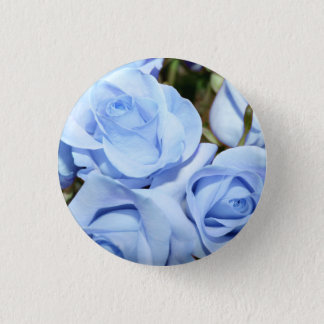 Rosie Blues-Button Runder Button 3,2 Cm