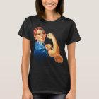 Rosie der Nieteneinschläger-Vintage Feminismus-T - T-Shirt