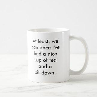 Rosie die Nieteneinschläger-Pause Kaffeetasse