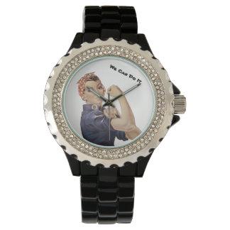 Rosie Nieteneinschläger WW2 können wir ihn tun Armbanduhr