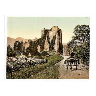 Ross-Schloss, II. Killarney. Co. Kerry, Irland rar Postkarte
