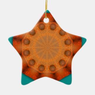 Rost-Mandala - ROSTart Keramik Ornament