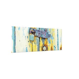 Rostige abstrakte Galerie-Verpackungs-Leinwand Leinwanddruck