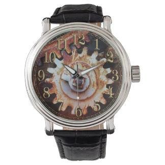 Rostige Mechaniker-Uhr Armbanduhr