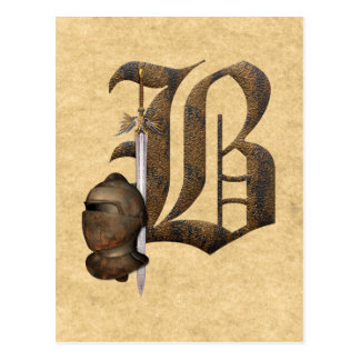 Rostige Ritter Anfangsb Postkarten