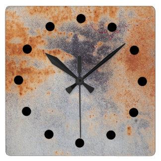 Rostige Schmutz Uhr