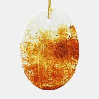 rostiger brauner Kunstbrand-Papierrauch abstrakte Keramik Ornament