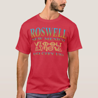 Roswell UFO-Stadt T-Shirt