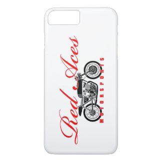 Rot Aces Motorsports, Vintages Motorrad iphone iPhone 8 Plus/7 Plus Hülle