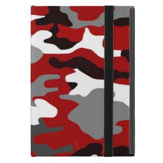 Rot beschattet Camouflage iPad Mini Schutzhüllen