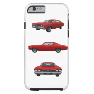Rot Chevelle 1968 SS: Tough iPhone 6 Hülle