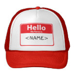 Rot hallo mein Name ist, <NAME> Kultmütze