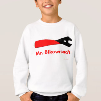 Rot Herrn Bikewrench Sweatshirt