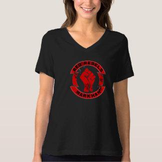 Rot lehnt sich T - Shirt auf