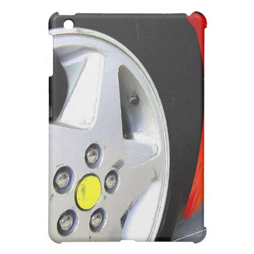 Rot-Sport-Car ipad Speck-Kasten iPad Mini Schale