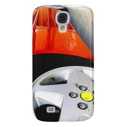 Rot-Sport-Car Speck-Kasten Galaxy S4 Hülle