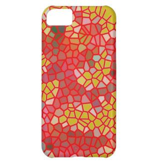 Rot-und Gelb-Knistern-Abdeckung für iPhone 5C iPhone 5C Hülle