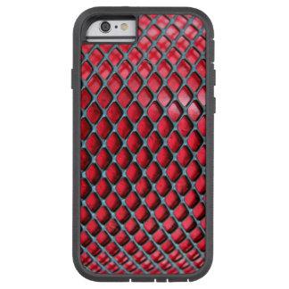 Rot und Schwarzes Tough Xtreme iPhone 6 Hülle