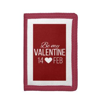 Rot und Weiß seien Sie mein Valentinsgruß-Herz