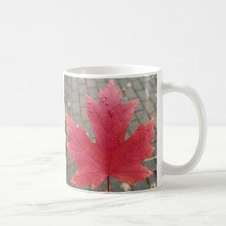 Rotahorn-Blatt Kaffeetasse