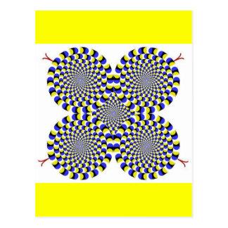 Rotatingsnakes Postkarte