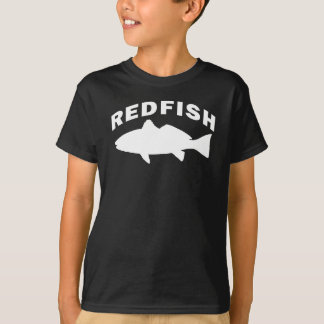 Rotbarsch-Fischen-Logo T-Shirt