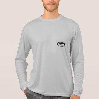 """Rotbarsch-Fliegen-Fischen-Reihe"" durch T-Shirt"