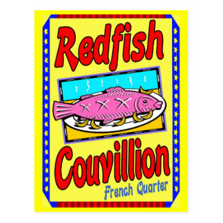 Rotbarsche Couvillion Postkarten
