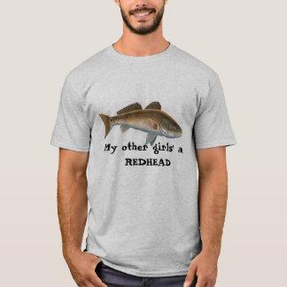 Rotbarsche pic, ein ROTES meines anderen Mädchens… T-Shirt