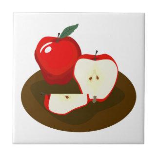 Rote Apfel-Küchen-Fliese Fliese