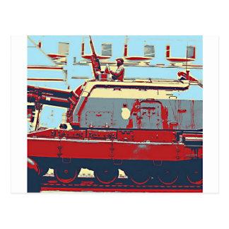 Rote Armee-Eroberung Postkarten