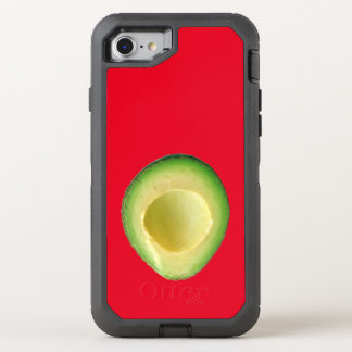 Rote Avocado-Liebe 4Linda OtterBox Defender iPhone 7 Hülle