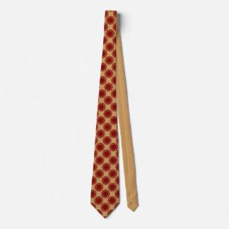 rote Bälle Krawatte