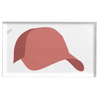 Rote Baseballmütze