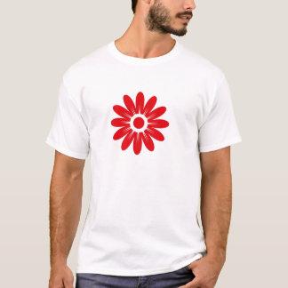 Rote Blume T-Shirt