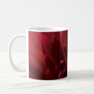 Rote Blumen-Fotografie Kaffeetasse
