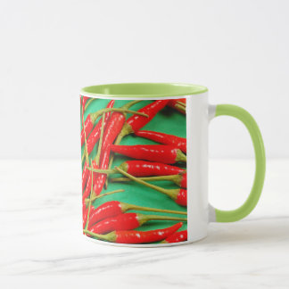 Rote Chili-Paprikaschotendruck-Kaffee-Tasse Tasse