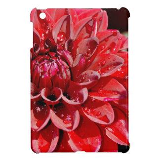 Rote Dahlieblumendruck ipad Abdeckung iPad Mini Hüllen