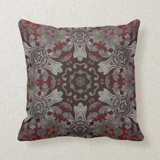 rote der Renaissance gotische metallische und Kissen