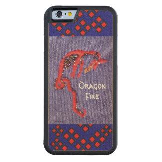 Rote Drache-Mythos-Fantasie Bumper iPhone 6 Hülle Ahorn