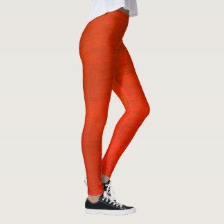 Rote Dunst-KratzerLeggins Leggings