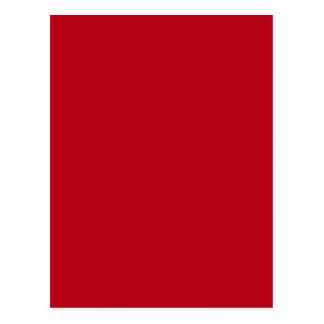 Rote Farbe R01 Postkarte