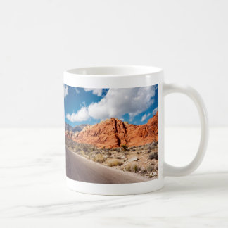 Rote Felsen-Schlucht-Tasse Kaffeetasse